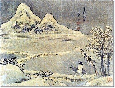 (Korea) 설답기려, 경교명승첩 by Gyeomjae Jeong Seon. ca 18th century CE. color on paper. 경교명승첩.