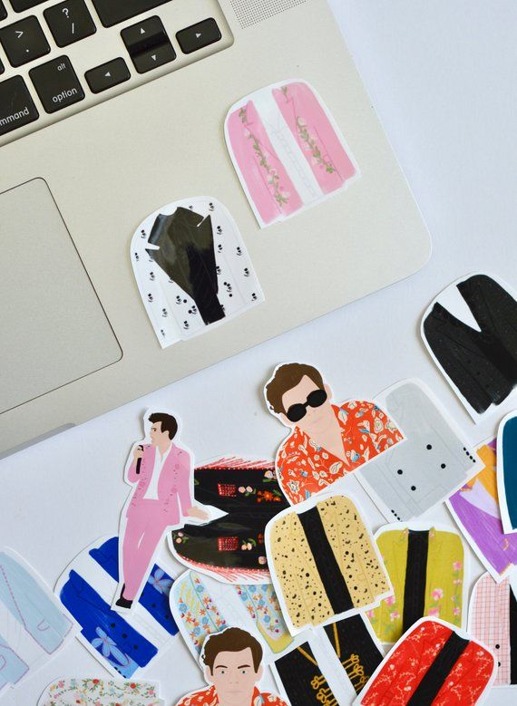 Harry Styles Stickers, Harry Styles Live On Tour, Laptop Decal