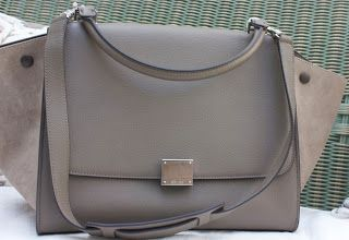 celine bag latest - celine khaki cotton handbag