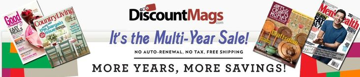 Your Favorite Magazines-Great Price for Multiple Years (Through Today) - CalvaryCouponers.com
