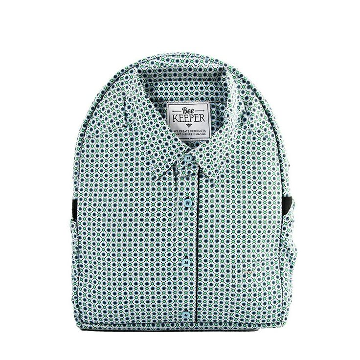 The BeeKeeper backpacks will tackle the world's massive textiles waste issues head on whilst funding an English Program in a school in rural Cambodia, giving each child a rich future of quality education. www.beekeeperglobal. com