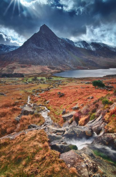 The Herald of Tryfan Snowdonia Wales