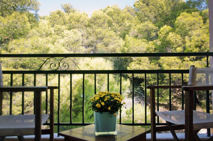 Guest room balcony - garden view