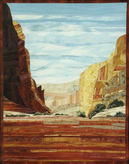 Grand Canyons Quilt by Carol Johnson