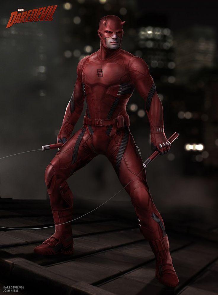 Así pudo ser el traje de Daredevil en Netflix