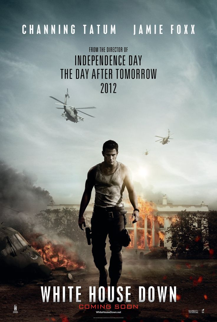 White House Down Movie Poster White House Down Movie Poster In 2021 White House Down White House Channing Tatum