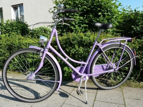 Hollandrad Prophete Noblesse, Damen Fahrrad, Nostalgie