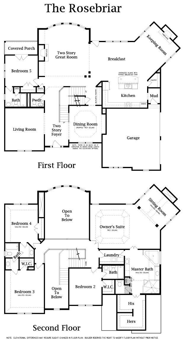 love this 2 story floor plan a few room changes but otherwise great