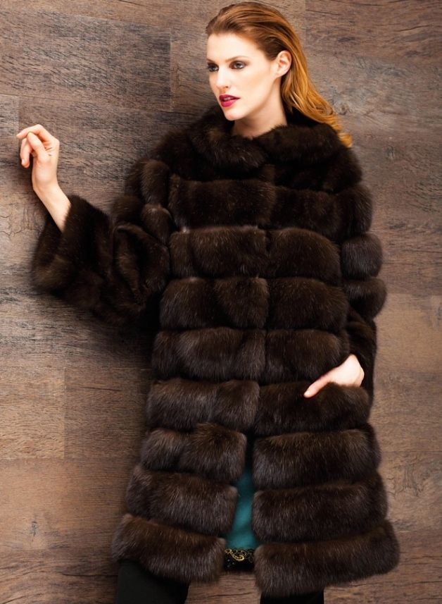 Rindi Sable Fur Coat
