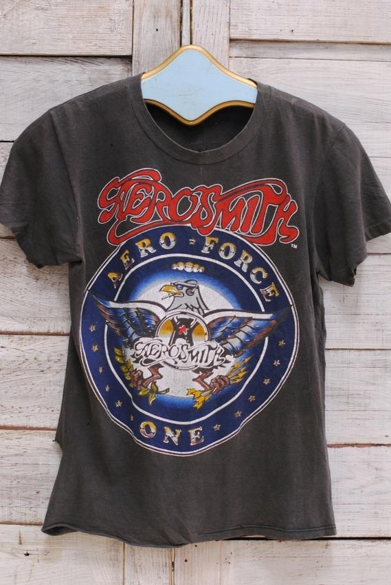"AEROSMITH ""Aero Force One"" 1987 Tee"