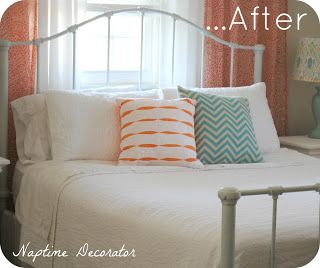 1000 images about iron headboards on pinterest rusted for How to paint a metal bed frame