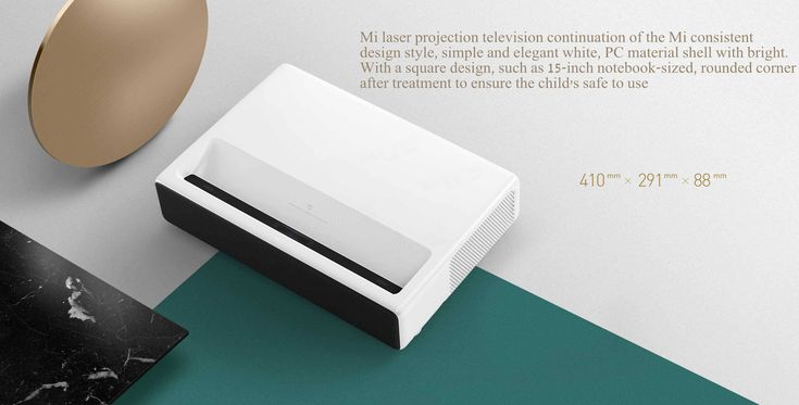 Xiaomi Mi MIJIA Laser Projector 5000 Lumens Android 6.0 ALPD 3.0 Full HD 4K 2GB/16GB 4-core