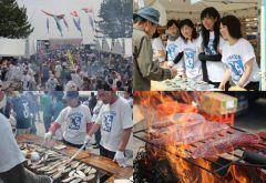 中土佐の初ガツオの時期に毎年開催されるかつお祭今年は5月21日 鰹尽くしの料理が楽しめますよ 鰹のたたきや鰹飯そして鰹カレー イベントもたくさんです tags[高知県]