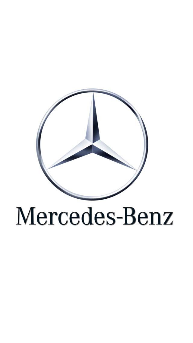 Mercedes-Benz logo of a tri-star represents the companies