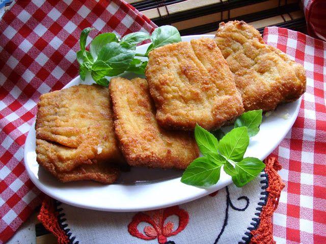 Filety z karpia w delikatnie cebulowej panierce. Karp panierowany z cebulką