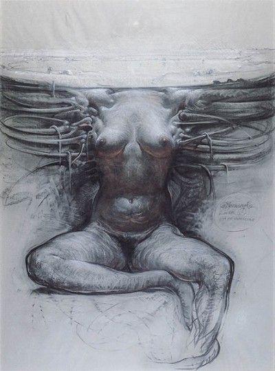 Franciszek Starowieyski - Posthuman Blues