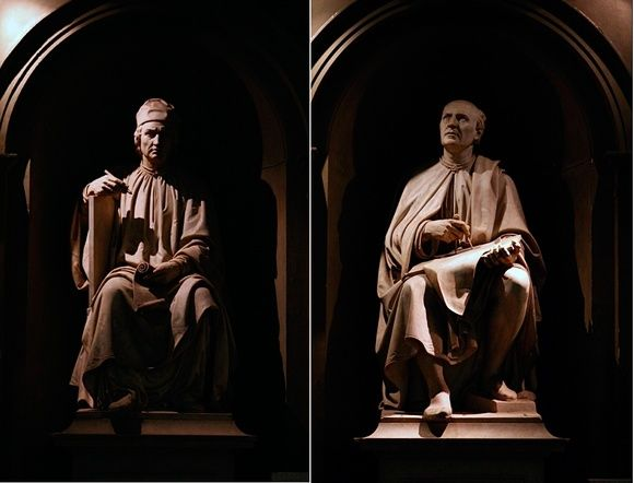"""Le Statue dei Giganti Immaginare il Grande Museo del Duomo come qualcosa di """"congelato"""" dal XV Secolo è completamente sbagliato. In più di 700 anni il cantiere dell'Opera non ha mai smesso di lavorare.  http://operaduomo.firenze.it/blog/posts/le-statue-dei-giganti"""