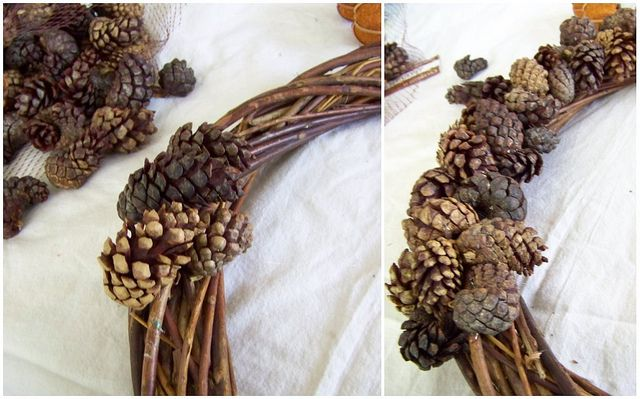 pinecone wreathPinecone Crafts, Extra Secret, Autumn Air, Adorable Pinecone, Mommy Crafts, Pine Cones, Pinecone Wreaths, Diy Pinecone, Wreaths Pine