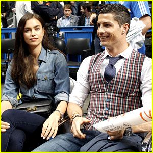 #Cristiano Ronaldo & Girlfriend Irina Shayk Make a Perfect Courtside Couple! --- More News at : http://RepinCeleb.com #celebrities #gossips #hollywood