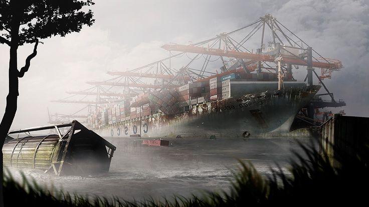 100 jaar verlaten Rotterdamse haven