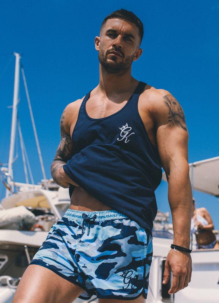 GK Swim Shorts - Aquifer Camo