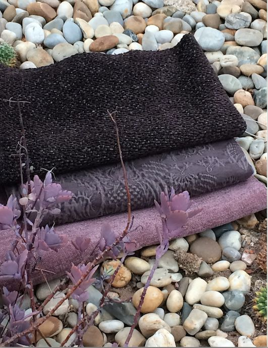 Equador collection 2015 by barbara osorio fabrics -  B110 Papaia; B101 Omali; B112 Monte Café