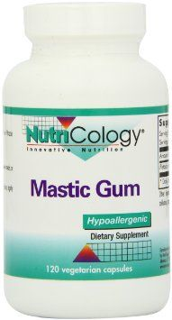 How much mastic gum to take for h pylori