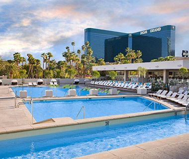 Wet Republic, MGM Grand When to Go: Sundays for DJ Robbie Rivera. Admission: $10 for women, $20 for men. Open to Non-Hotel Guests? Yes. Family Friendly? Adults 21 and over.