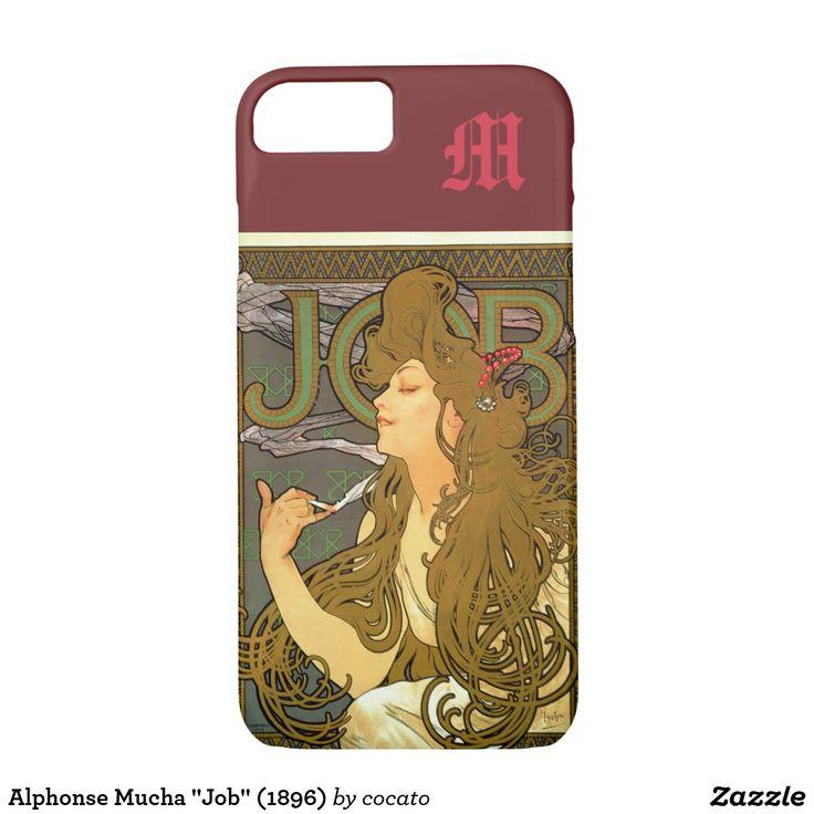 """Alphonse Mucha """"Job"""" (1896) iPhone 7 Case"""