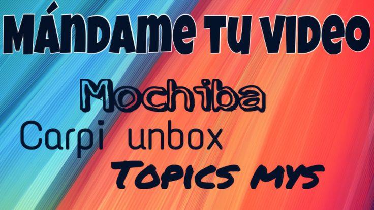 MÁNDAME TU VIDEO. PROMOCIÓN DE CANALES 4. @RinconDeMarymo