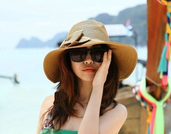 >> Click to Buy << gurantee quality retail  A177 Free shipping  women fashion japan raffia straw hats  beach caps  lady sun hats wholesale  #Affiliate