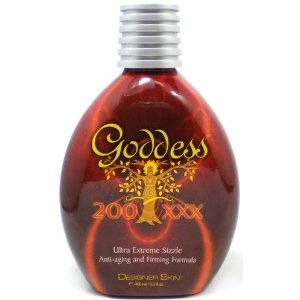 This lotion goes on warm and has a nice smell to it, and allows for a darker tan - so if you want to try a tanning lotion with a little kick and you don't want to pay full price for it at the salon, this is the one for you. $25