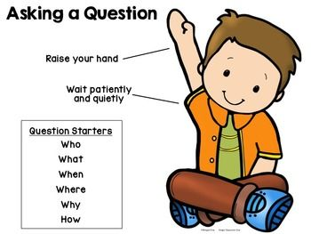 how to ask questions in class as a student