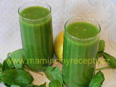 Zelené smoothie s kiwi