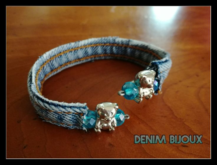 Bracelet DenimNounours