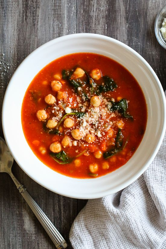 This easy, hearty, one-pot meal, loaded with chickpeas and vegetables in every bite is so flavorful with and perfect for a cold winter night.