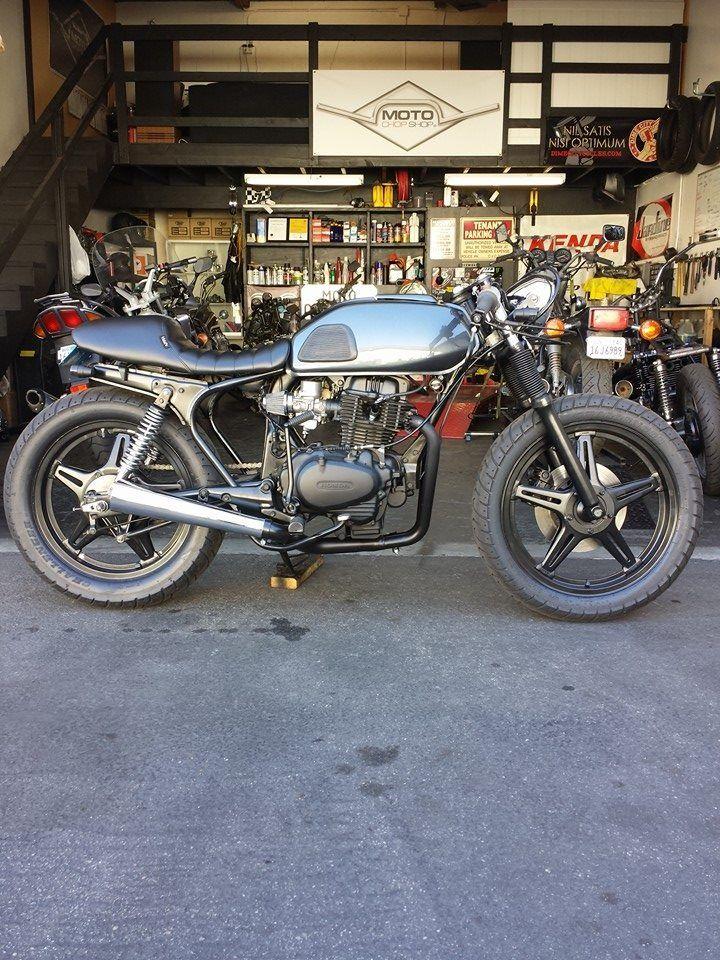 17 best images about motorcycles triumph rocket 78 honda cb400t hawk by moto chop shop