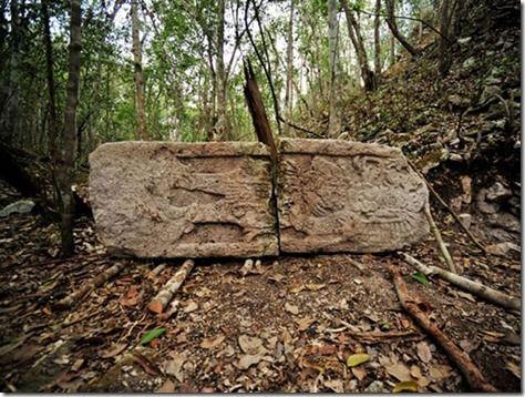 Antiga cidade maia descoberta na selva mexicana