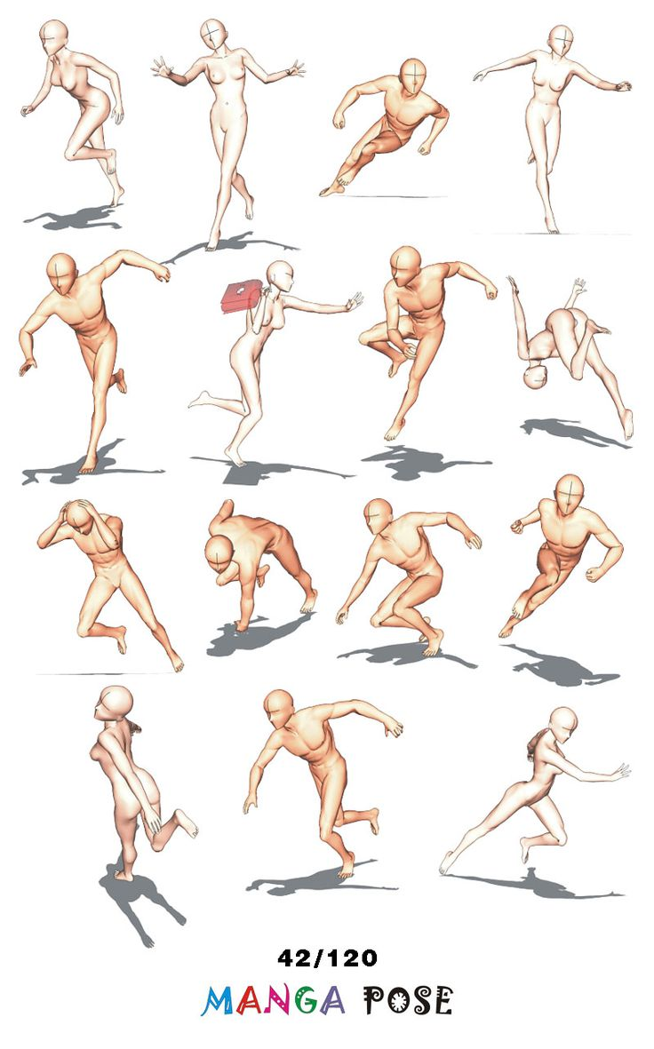 Anime Characters Reference : Best ideas about manga poses on pinterest