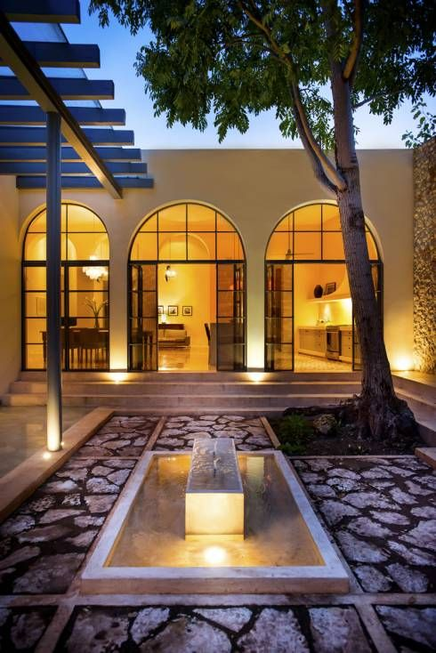 Casa WS52: Jardines de estilo colonial por Taller Estilo Arquitectura