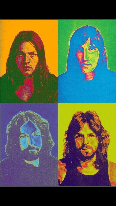 Pink Floyd iPhone wallpaper.  #iphone #wallpaper #iphonewallpaper #pinkfloyd #floyd #popart #pinkfloydart