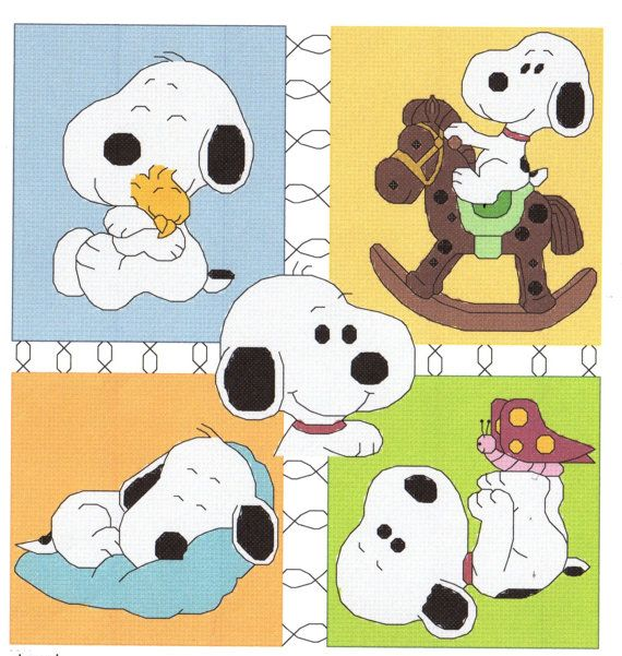 Hey, I found this really awesome Etsy listing at http://www.etsy.com/es/listing/130980070/baby-snoopy-collage-cross-stitch-pattern