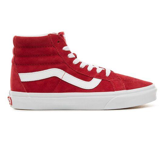 Chaussures en daim Sk8-Hi Reissue | Rouge | Vans | Chaussure daim ...