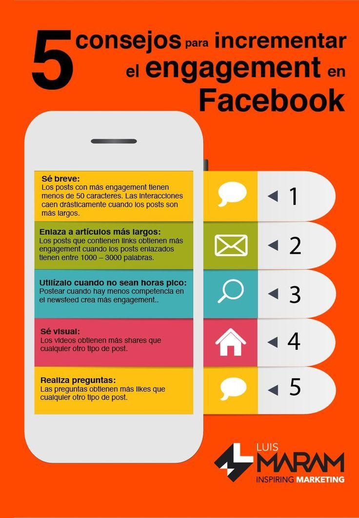 Vamos a conocer 5 consejos geniales para conseguir más interacciones en Facebook y hacer exitosas tus publicaciones en la red social. Confira as nossas recomendações!