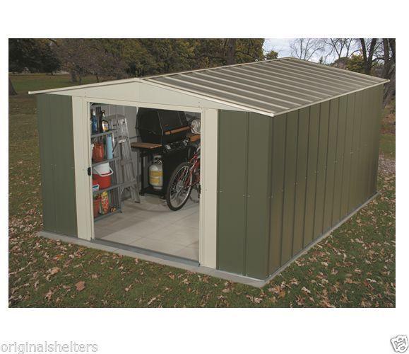Arrow Metal Sheds:10' x 9' Lawn/Garden Shed Kit: Outdoor Medium Yard Storage #ArrowShedsarrowshedsarrowstoragesheds
