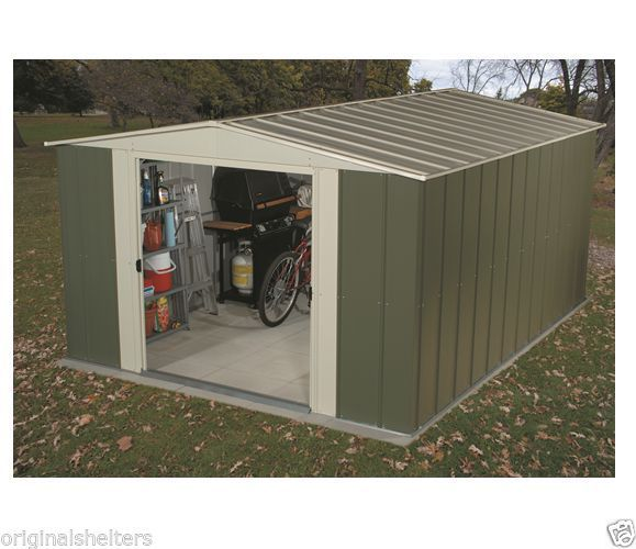 Arrow Metal Shed 10x9 Outdoor Storage Sheds Building Kit