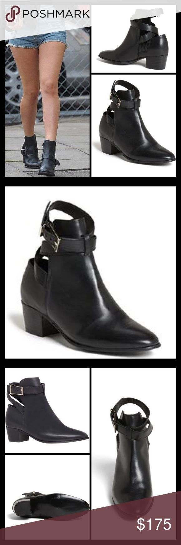 💠JUST IN💠CROSSING ANKLE STRAP BOOT [KURT GEIGER] 🛍 2+ BUNDLE=SAVE  ‼️NO TRADES--NO HOLDS--NO MODELING  💯 Brand Authentic   ✈️ Ship Same Day--Purchase By 2PM PST  🖲 USE BLUE OFFER BUTTON TO NEGOTIATE   ✔️ Ask Questions Not Answered In Discription-Want You To Be Happy! Kurt Geiger Shoes Ankle Boots & Booties