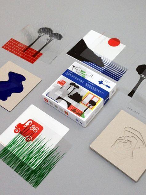 Plus and Minus by Bruno Munari - wonderfully inventive and imaginative visual game! | moonpicnic.com