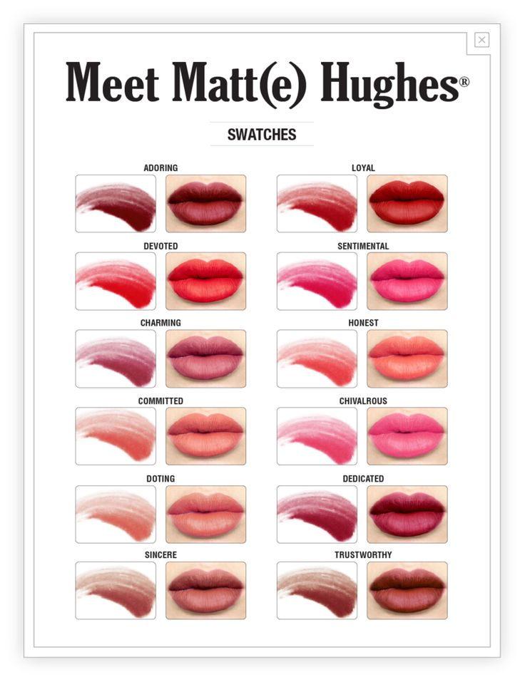 Introducing a truly loyal long-lasting liquid lipstick—Meet Matt(e) Hughes. With twelve dreamy shades to choose from, you can take your pick from this hopelessl