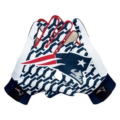 Nike New England Patriots Stadium Gloves - Navy Blue
